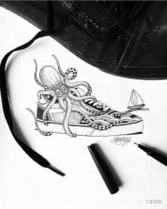 『异动空间,INS:bombayfoor』____纹身艺术家连载