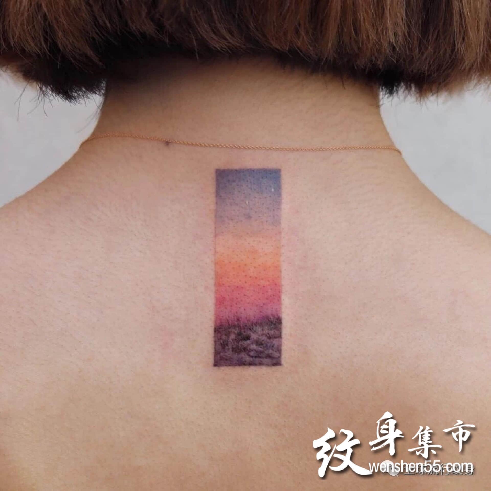 小清新纹身