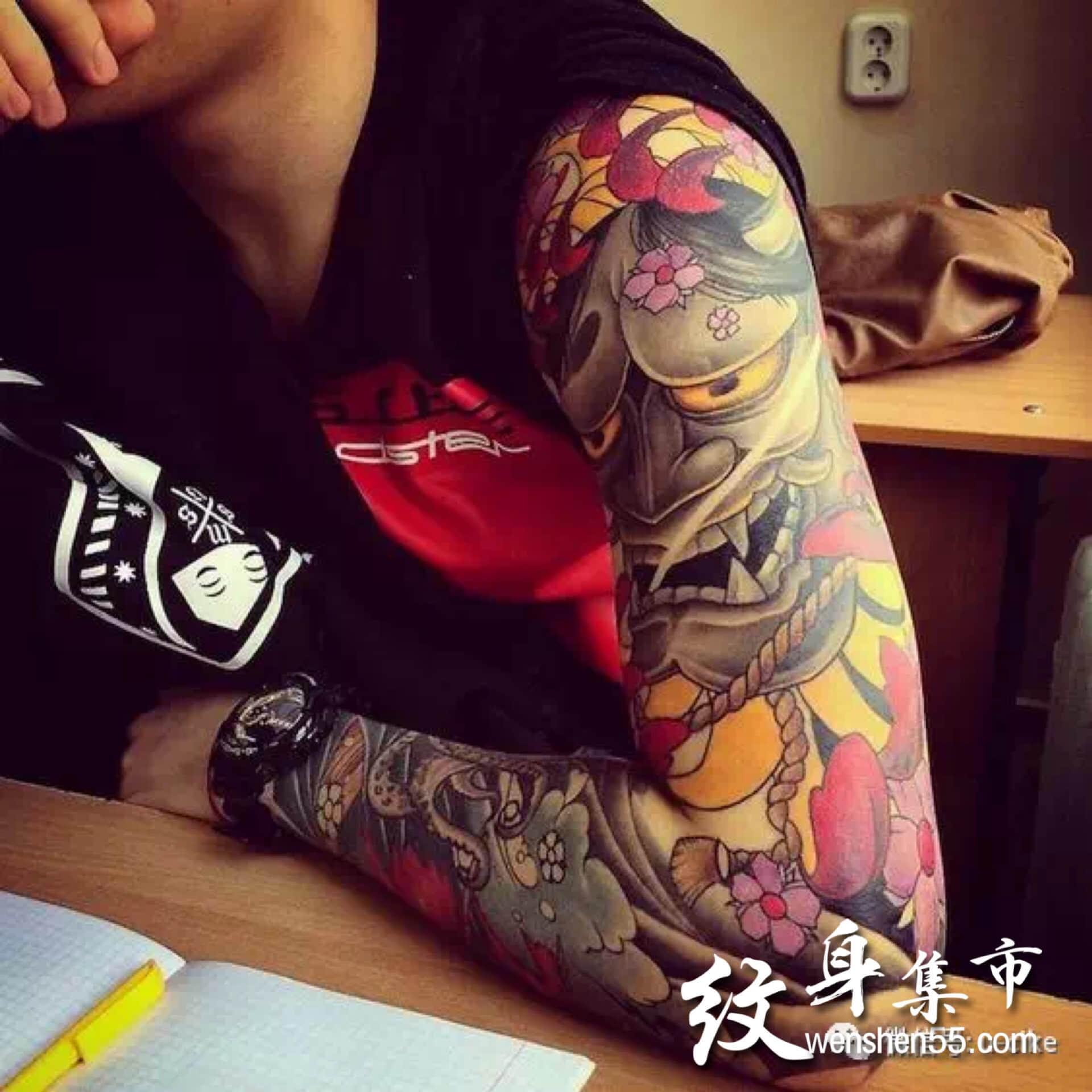 般若纹身,般若纹身手稿