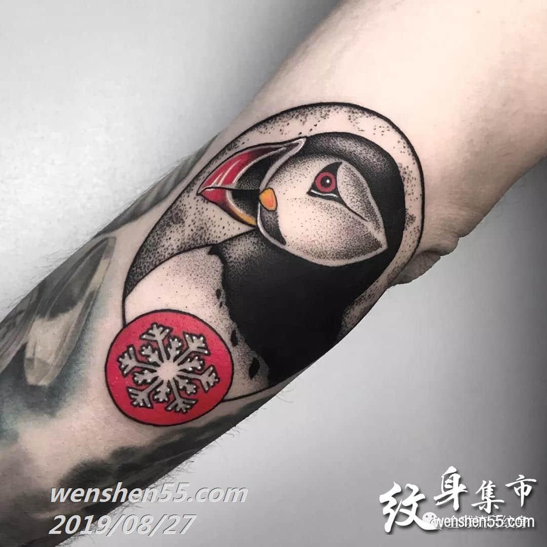 适合手臂个性纹身,腿部纹身