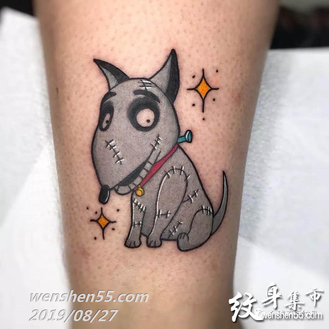 卡通纹身手稿图案,小清新纹身手稿图案