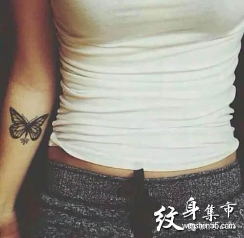 蝴蝶纹身,蝴蝶纹身图案