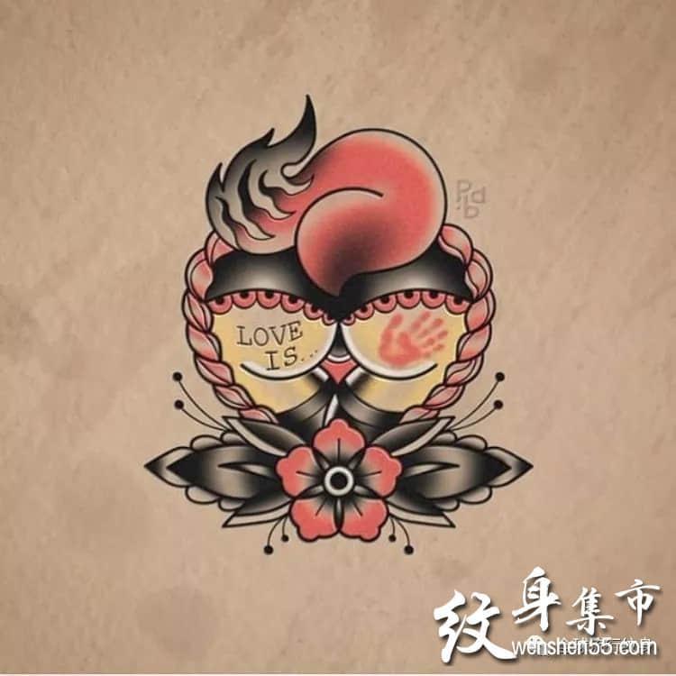 狐狸纹身手稿,狐狸纹身手稿图案
