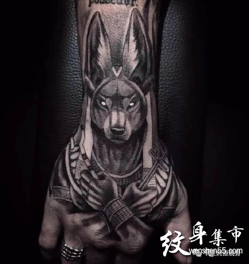 手背纹身,手背纹身手稿图案