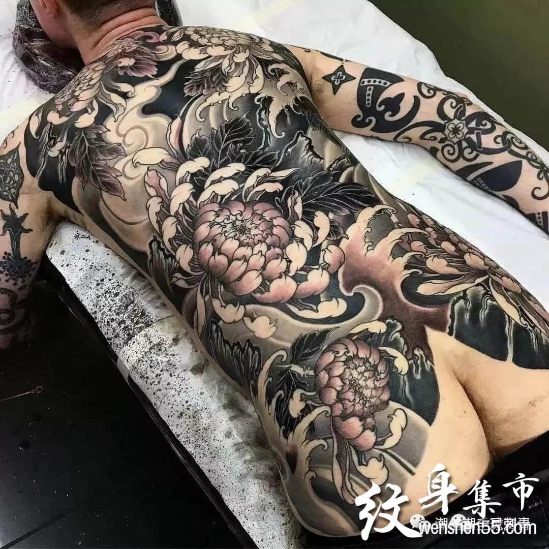 满背纹身,满背纹身手稿