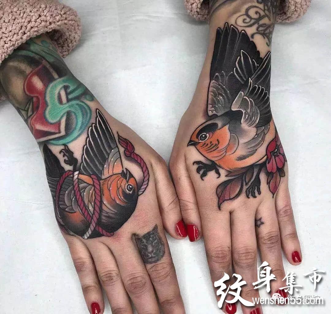 school手背纹身,school手背纹身手稿