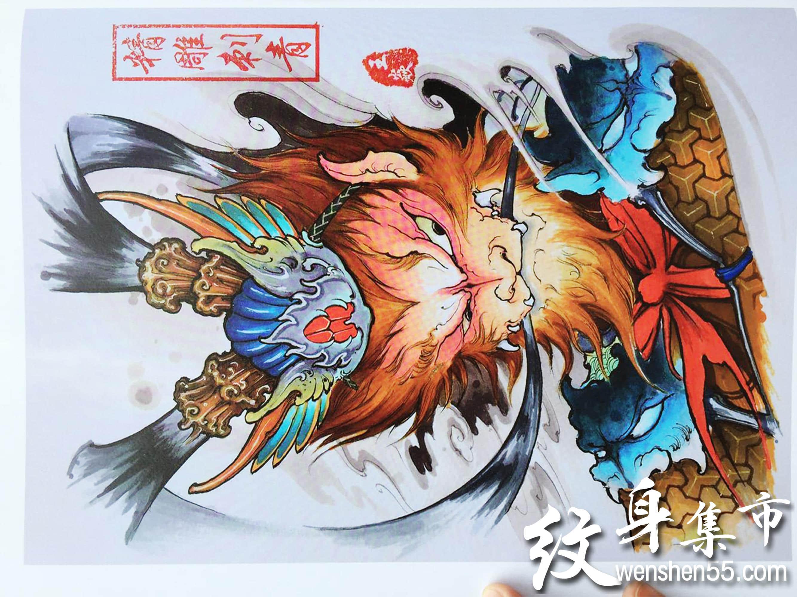 精雕刺青,精雕刺青手稿,精雕刺青纹身手稿图案