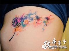 蒲公英纹身,蒲公英纹身手稿,蒲公英纹身手稿图案