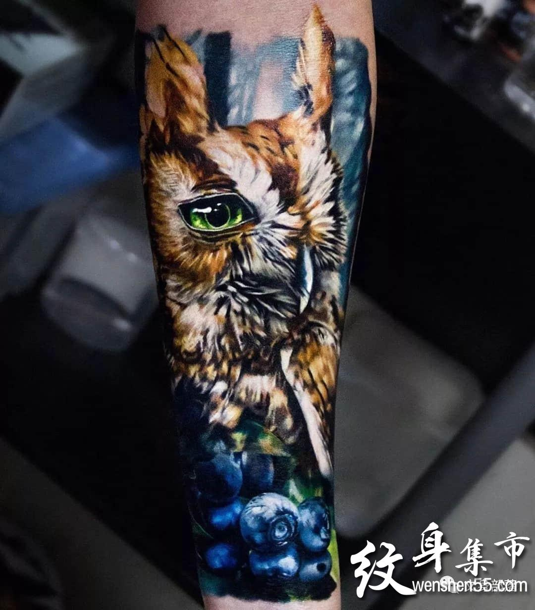 写实纹身,超写实纹身手稿图案,ins艺术家连载