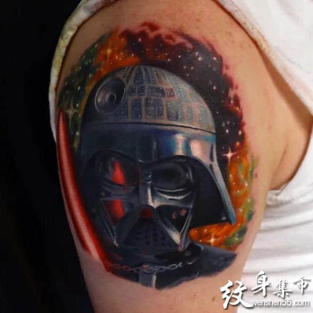 重彩纹身,重彩纹身手稿,重彩纹身手稿图案