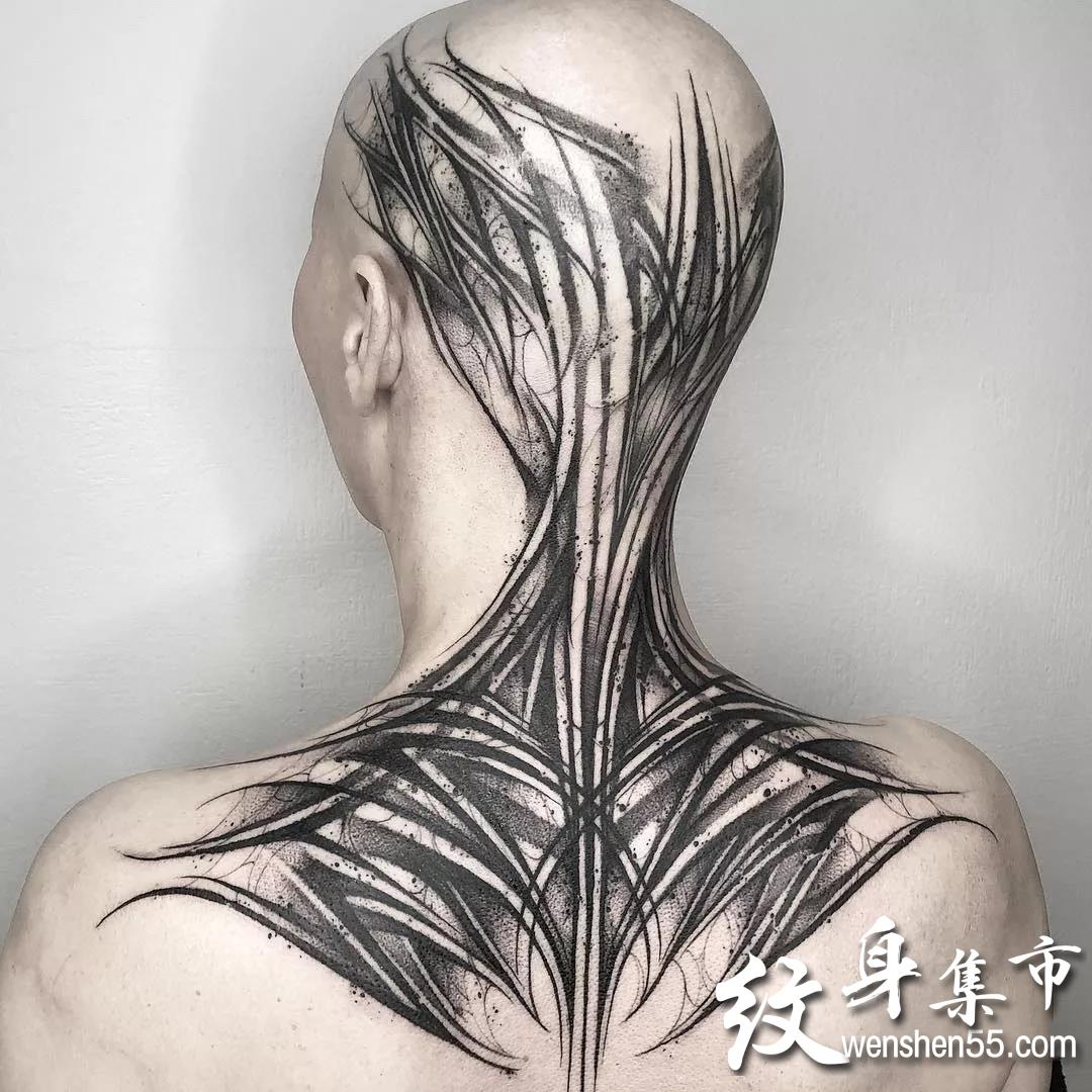 暗黑花体字,暗黑花体字纹身,暗黑花体字纹身手稿图案