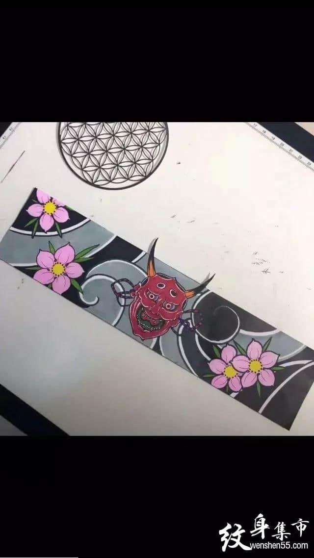 臂环手环纹身,臂环手环纹身手稿,臂环手环纹身手稿图案