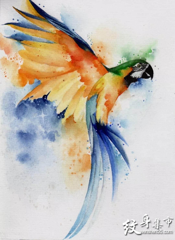 水墨纹身,水墨纹身手稿,水墨纹身手稿图案