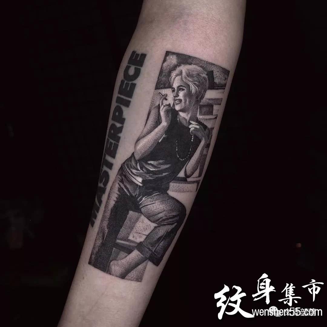 暗黑纹身,暗黑纹身手稿图案,ins纹身艺术家连载