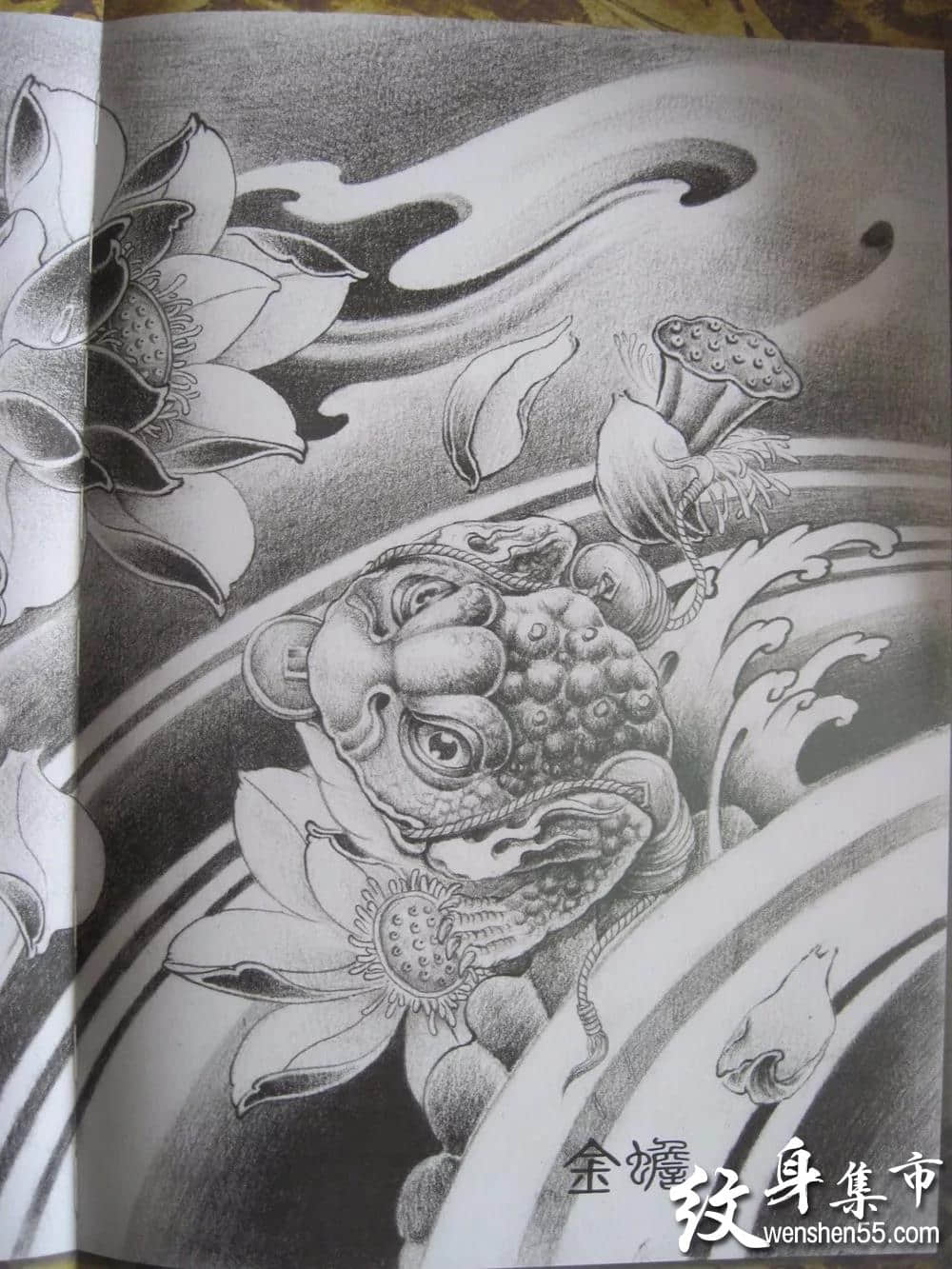 佛系纹身,佛系纹身手稿,佛系纹身手稿图案