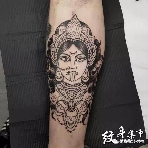 湿婆纹身,湿婆纹身手稿,湿婆纹身手稿图案