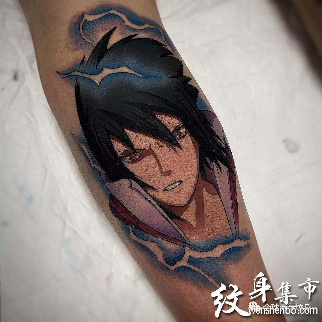 动漫纹身,动漫纹身手稿,动漫纹身手稿图案大全
