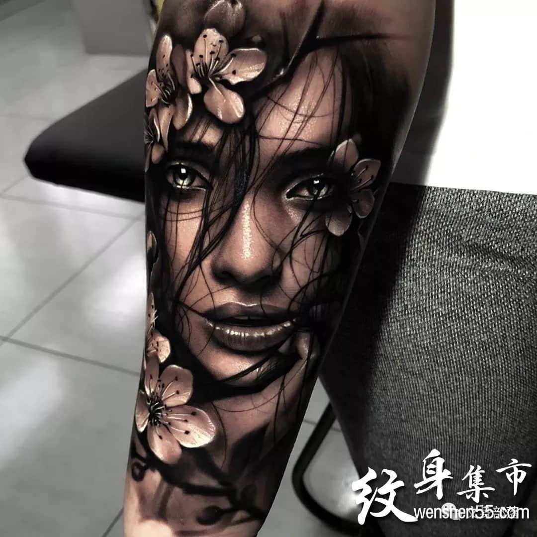 写实纹身,写实纹身手稿图案,ins艺术家作品连载
