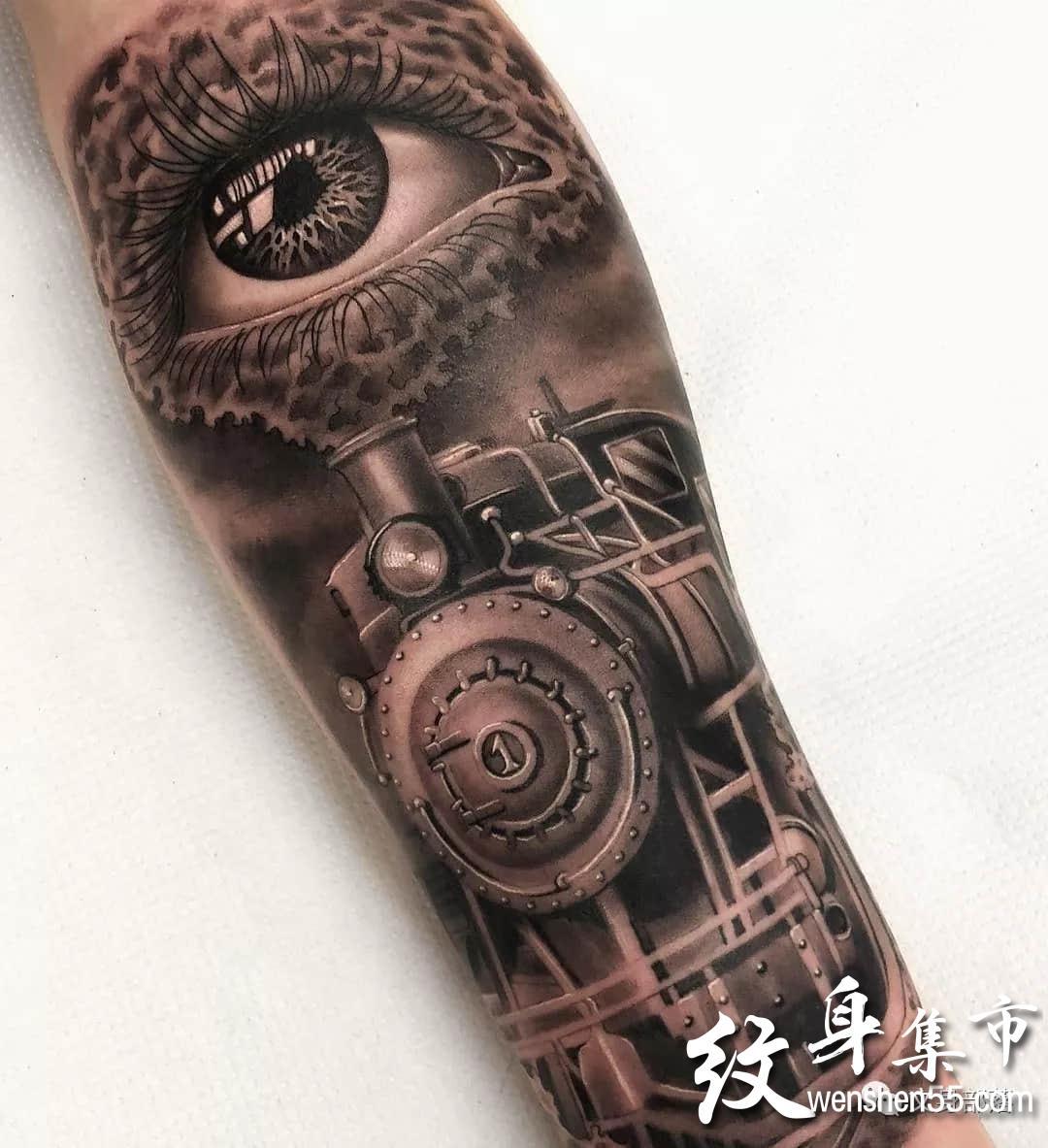 写实纹身,写实纹身小图图案,ins艺术家作品连载