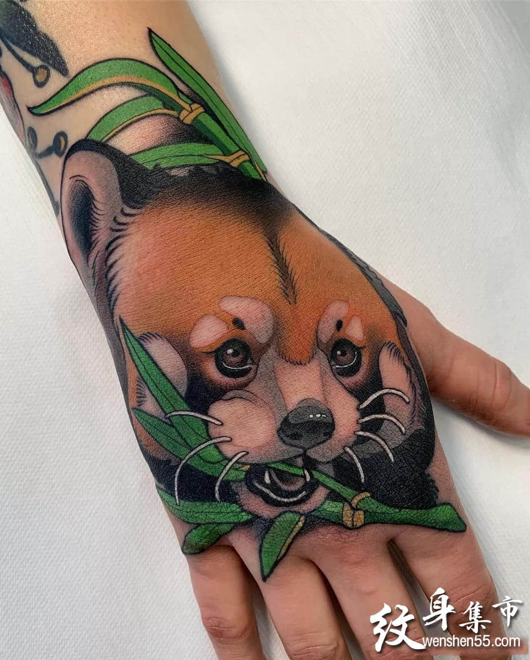 手背纹身,手背纹身手稿,手背纹身手稿图案