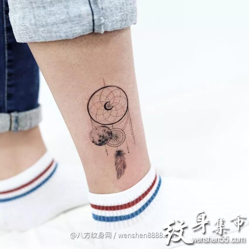 脚踝纹身,脚踝纹身手稿,脚踝纹身手稿图案大全