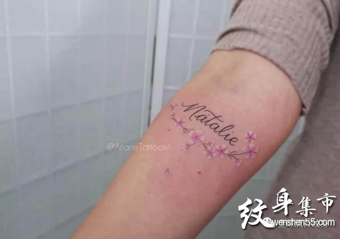 小清新纹身,小清新纹身手稿,小清新纹身手稿图案