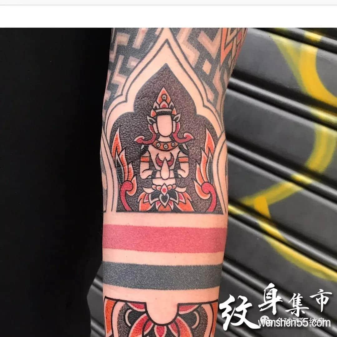 点刺纹身,点刺纹身手稿图案,ins艺术家作品连载