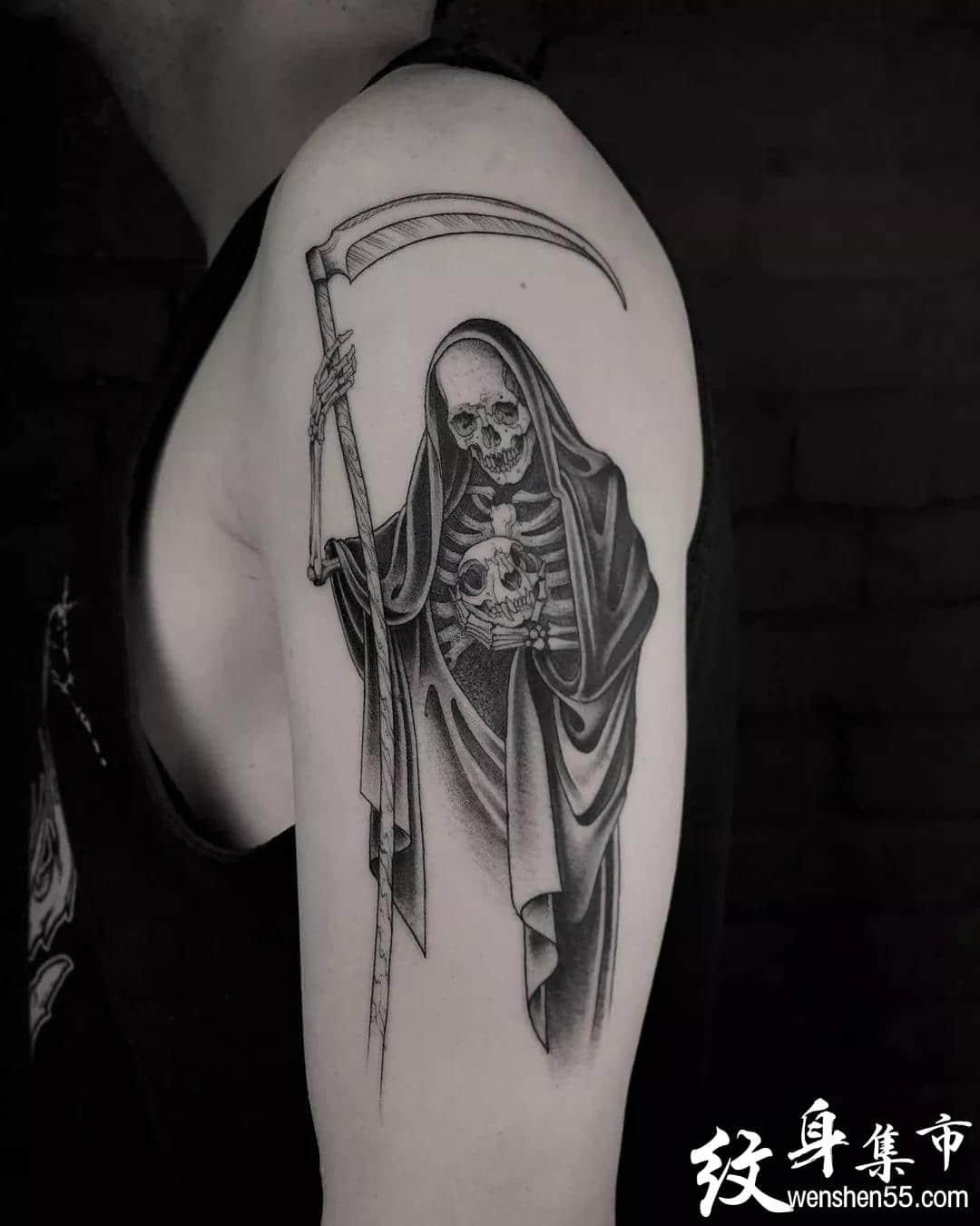 黑灰oldschol纹身,黑灰oldschol纹身手稿图案