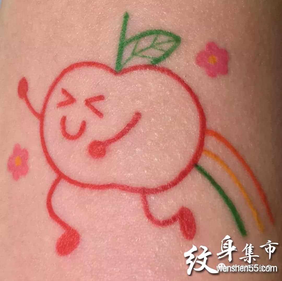 小清新纹身,简笔画纹身,简笔画纹身手稿图案