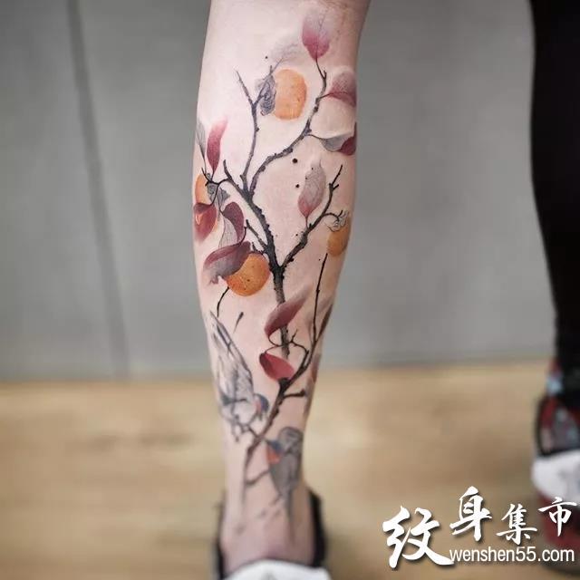 水墨纹身,水墨纹身图案大全,中国风纹身