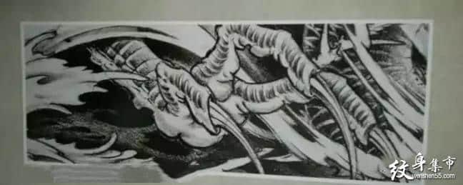 臂环纹身,臂环纹身手稿,臂环纹身手稿图案