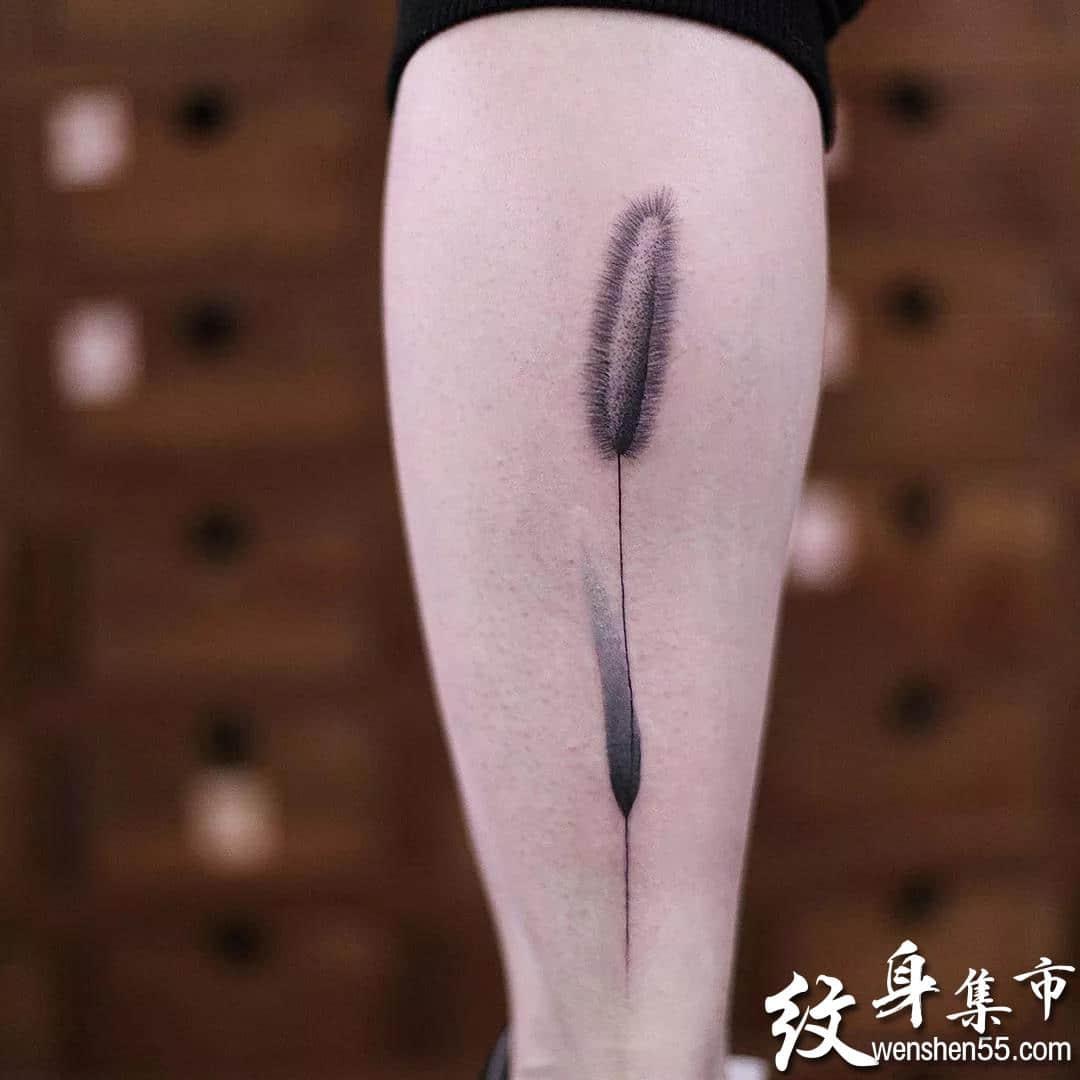 小清新水墨纹身,小清新水墨纹身手稿,小清新水墨纹身手稿图案