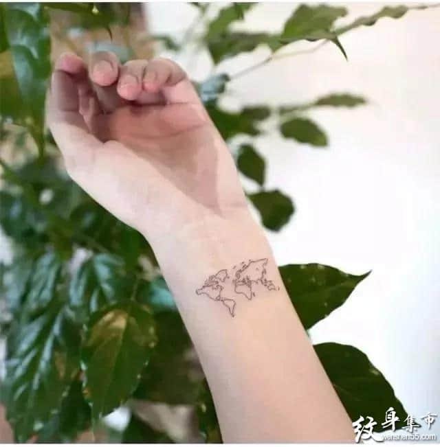 手腕纹身,手腕纹身手稿,手腕纹身手稿图案