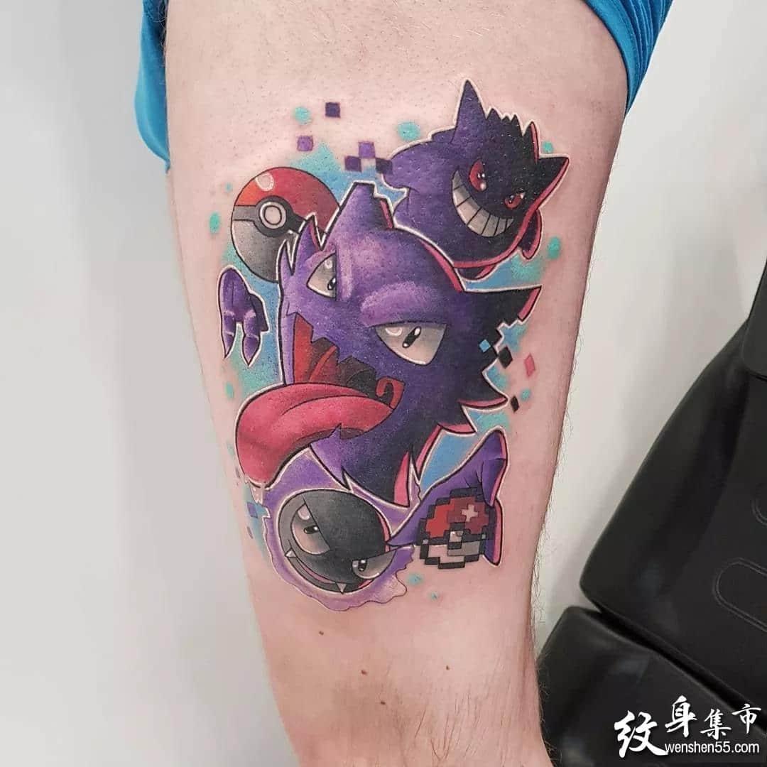动漫纹身,动漫纹身手稿,动漫卡通纹身手稿图案