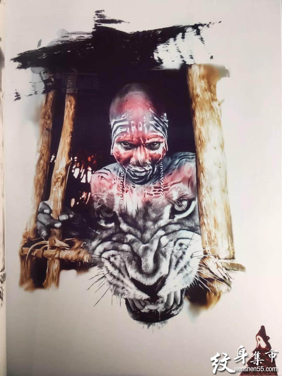 人物欧美写实纹身,人物欧美写实纹身手稿,人物欧美写实纹身手稿图案