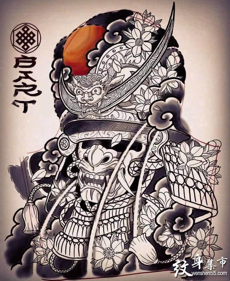 脖子颈部纹身,脖子颈部纹身手稿,脖子颈部纹身手稿图案