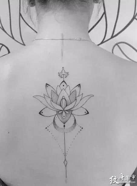 背脊纹身,背脊纹身手稿,背脊纹身手稿图案