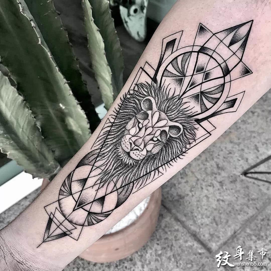 几何点刺纹身,几何点刺纹身手稿,几何点刺纹身手稿图案
