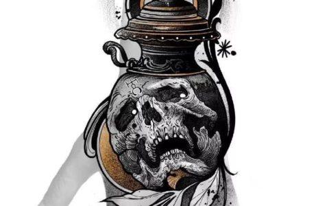 9款手背炫酷暗黑纹身,手背炫酷暗黑纹身手稿,手背炫酷暗黑纹身手稿图案