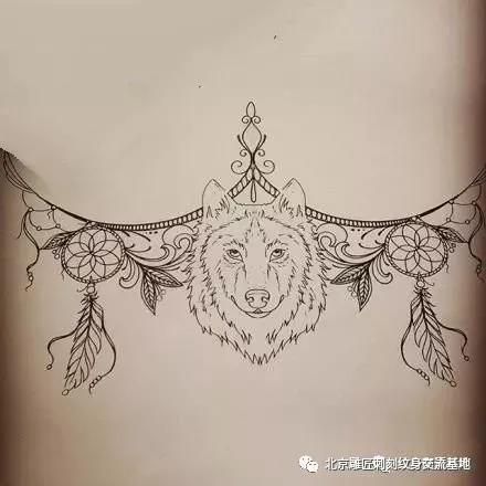 女神胸下纹身,女神胸下纹身手稿,女神胸下纹身手稿图案