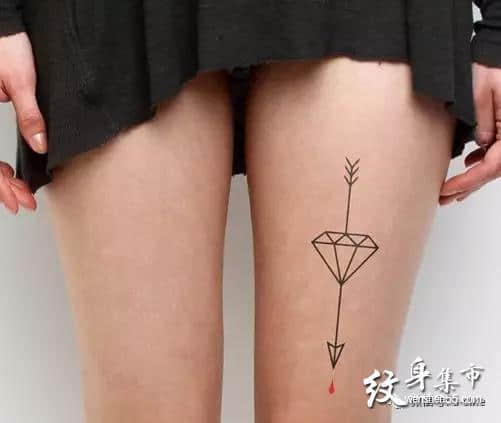 钻石纹身,钻石纹身手稿,钻石纹身手稿图案