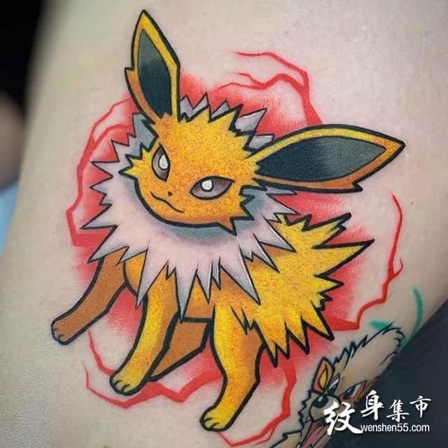 卡通纹身,卡通纹身手稿,卡通纹身手稿图案