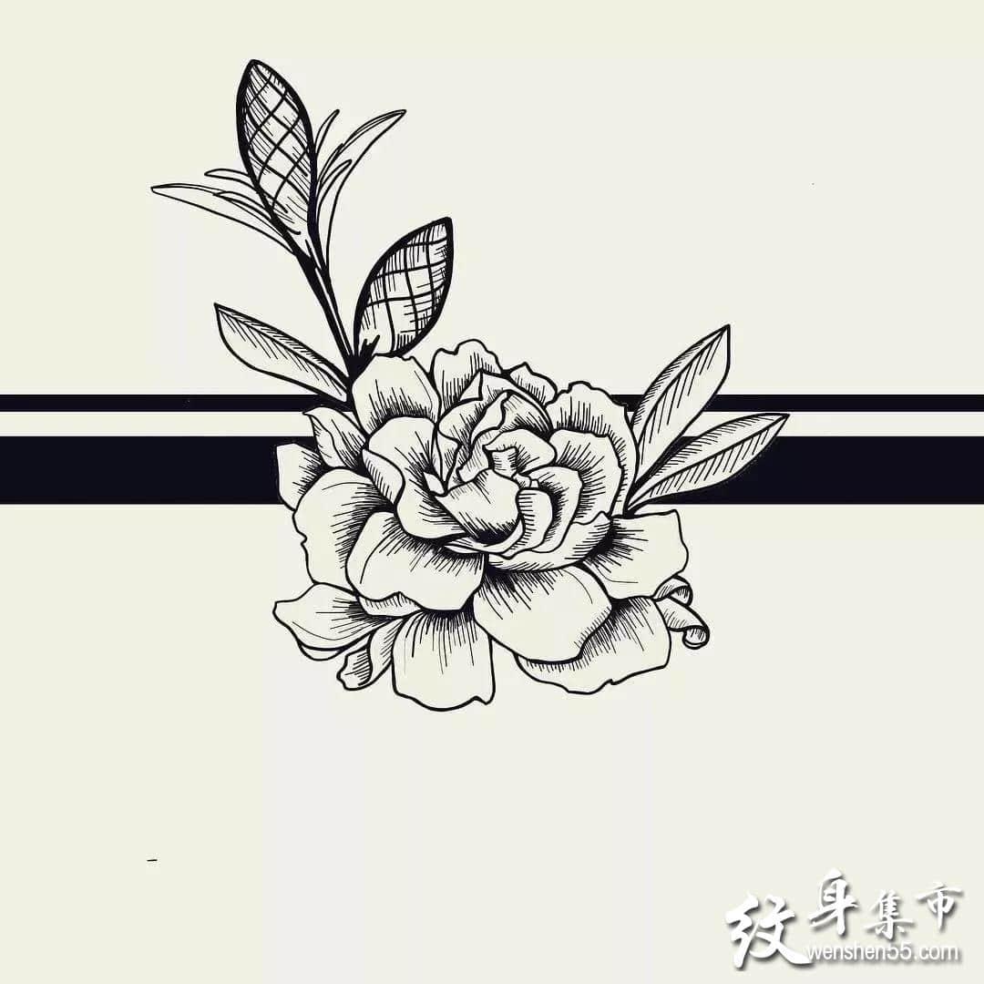 臂环纹身,臂环纹身手稿图案,史上最全臂环手稿