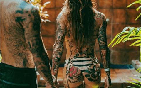 如果纹身会变色,你希望是什么颜色的?