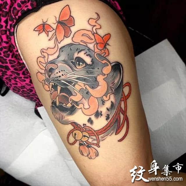 小动物纹身,小动物纹身手稿,小动物纹身手稿图案