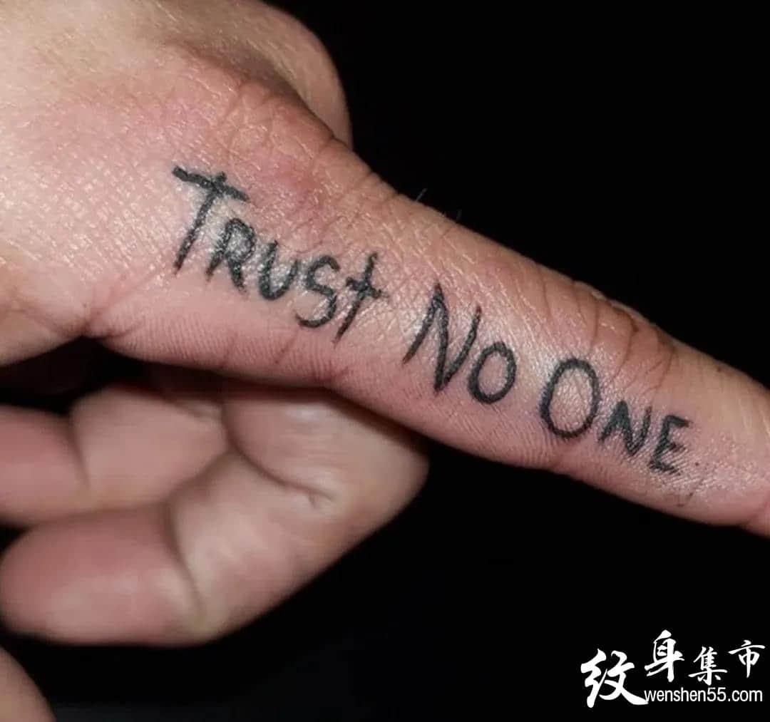 手指纹身,手指纹身手稿,手指纹身手稿图案