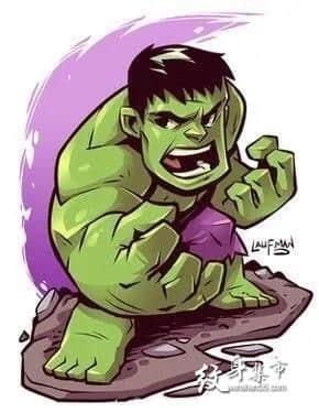 漫威英雄卡通纹身,漫威英雄卡通纹身手稿图案