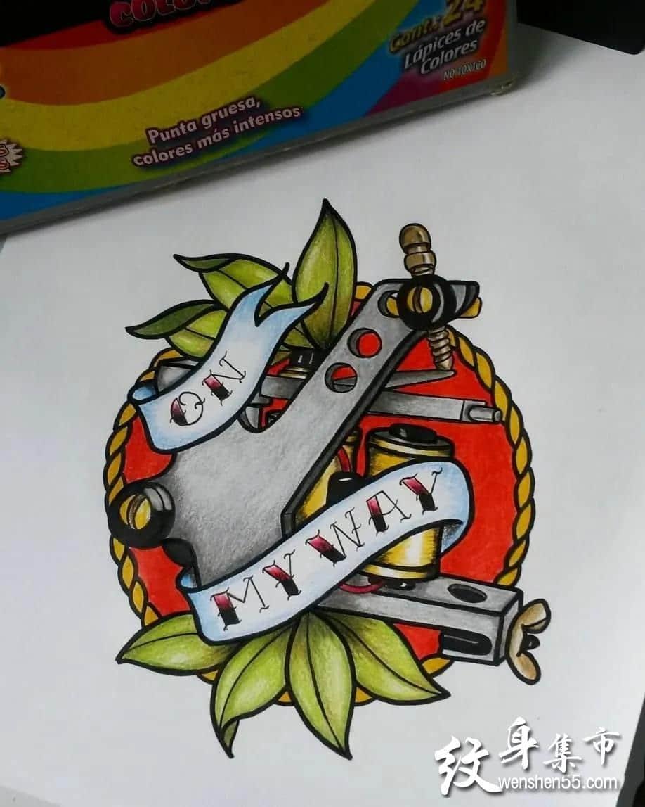 纹身机纹身,纹身机纹身手稿,纹身机纹身手稿图案