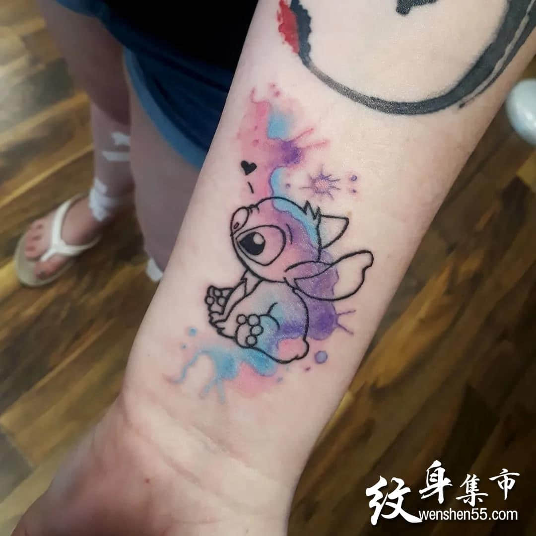 史迪奇纹身,史迪奇纹身手稿,史迪奇纹身手稿图案