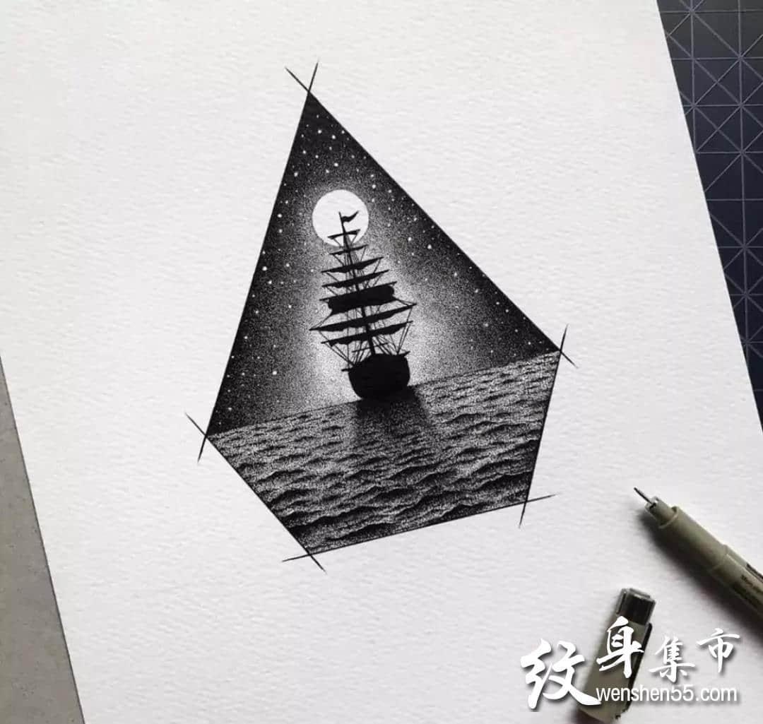 创意小图纹身,创意小图纹身手稿,创意小图纹身手稿图案